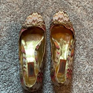 Missoni Ballet Flats Sz 38